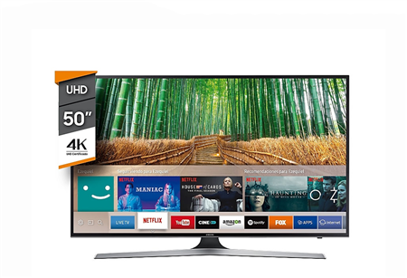 "Smart Tv 4 K Ultra HD 50"" Samsung 50mu6100"