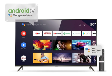 Smart Tv 4K Ultra HD 55'' TCL L55p8m con Andoid Tv