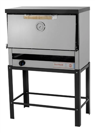 Horno Pizzero a gas natural Sol Real Gauchito  801-I